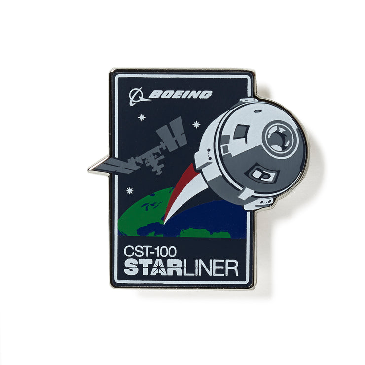 CST-100 Starliner Lapel Pin