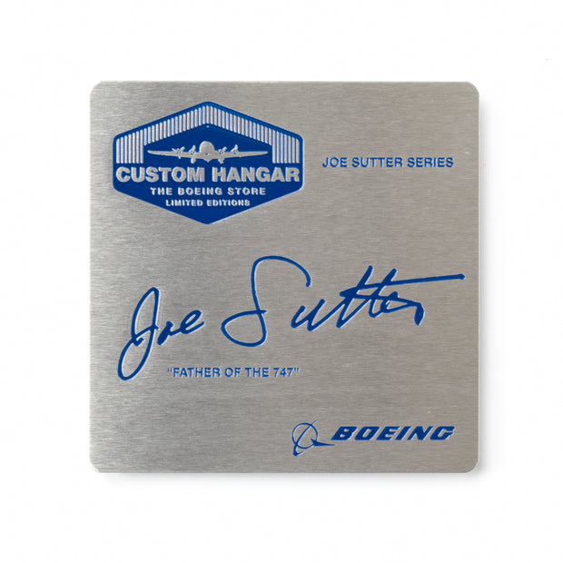 Boeing 747-400 Right Rudder Pedal - Joe Sutter Edition