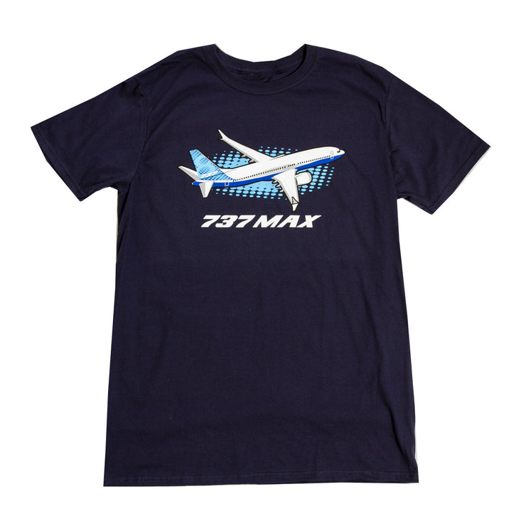 Boeing 737 MAX Illustrated T-Shirt
