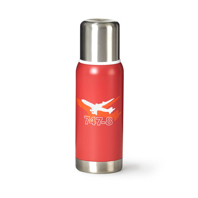 Boeing 747-8 Shadow Graphic Thermos