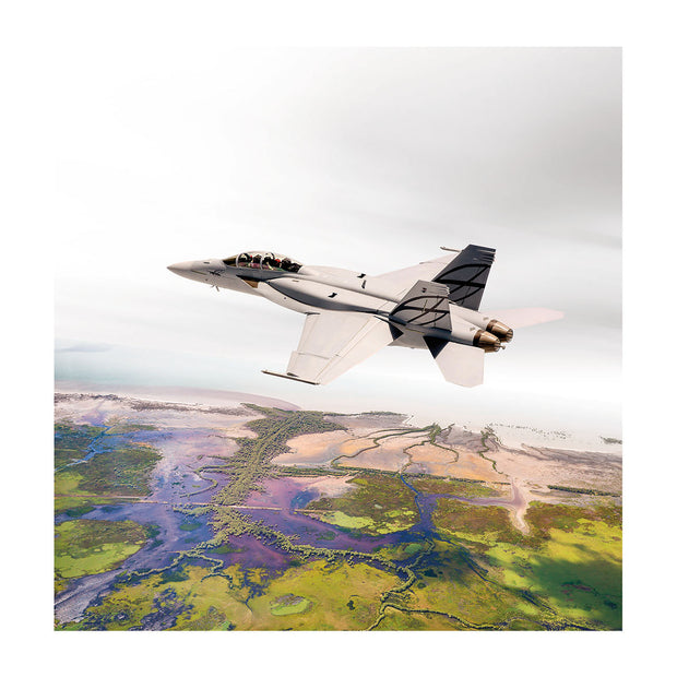 Boeing F/A-18 Matted Print - Large (2752897155194)