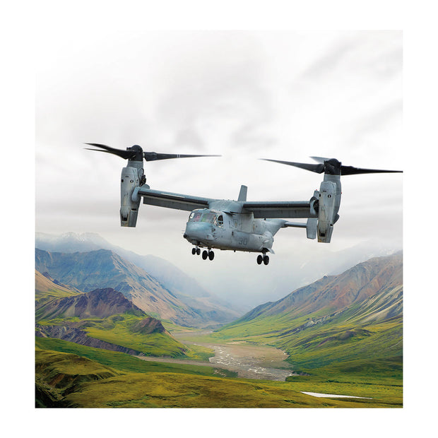Boeing V-22 Matted Print  - Small