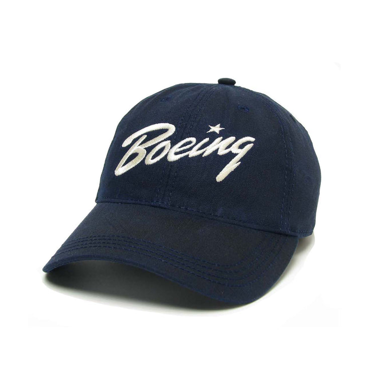 Boeing Script Heritage Waxed Cotton Hat (243078299660)