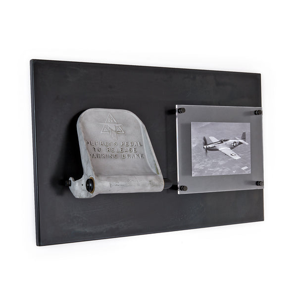 P-51 Mustang Rudder Pedal Plaque I