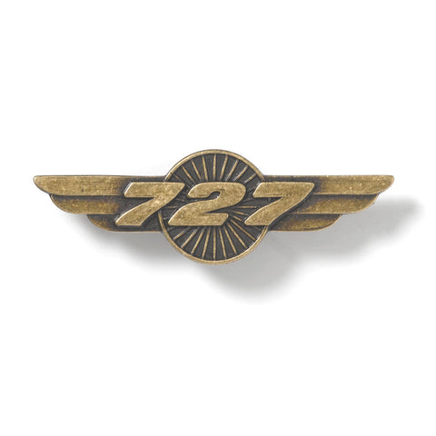 727 Wings Pin