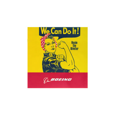 "Boeing Rosie ""We Can Do It"" Sticker"
