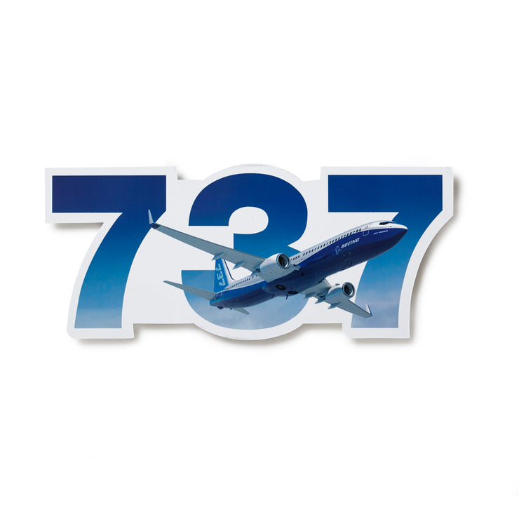 Boeing 737 Sticker (6402896518)