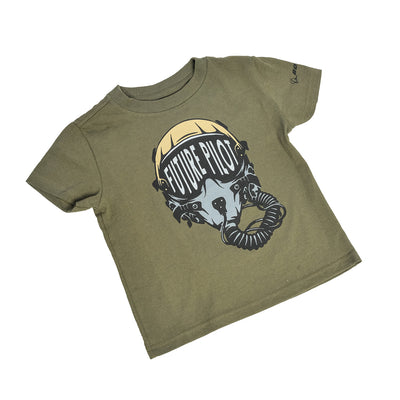 Boeing Toddler Future Military Pilot T-Shirt (2958483390586)
