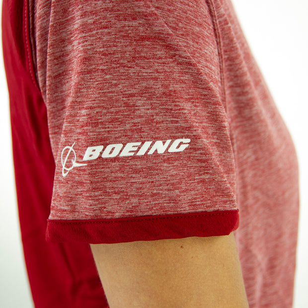 Champion Boeing Women's Athletic T-Shirt (1432960565370)