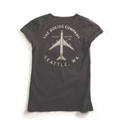 Red Canoe Boeing 747 Women's T-Shirt