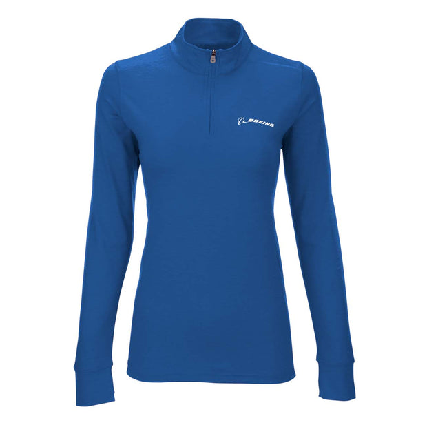 Boeing Women's Zen 1/4 Zip Sweatshirt (2304603095162)