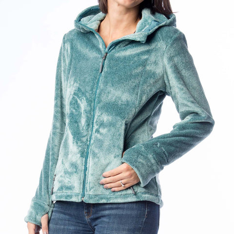 Heathered Melange Butter Pile Fleece Jacket