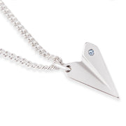 Swarovski® Airplane Necklace