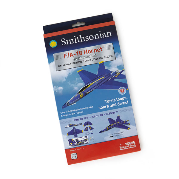 Smithsonian Blue Angels F/A-18 Glider Kit - Medium