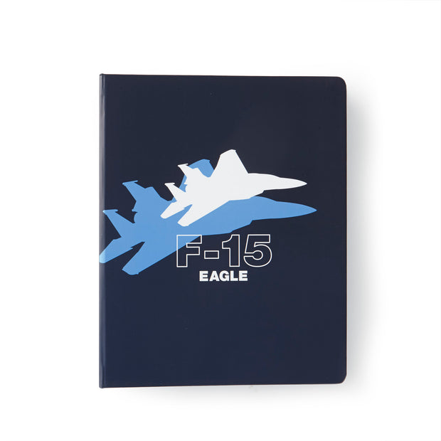 Boeing F-15 Eagle Shadow Graphic Notebook