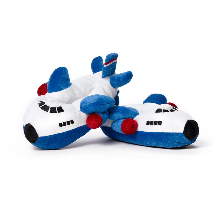 Boeing Blue Airplane Slippers (6403268806)