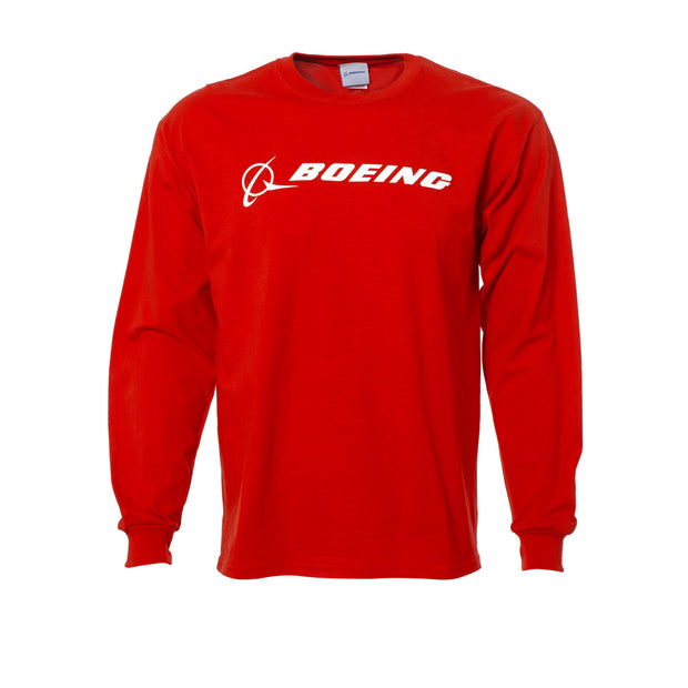 Boeing Logo Signature Long-Sleeve T-Shirt (6413626054)