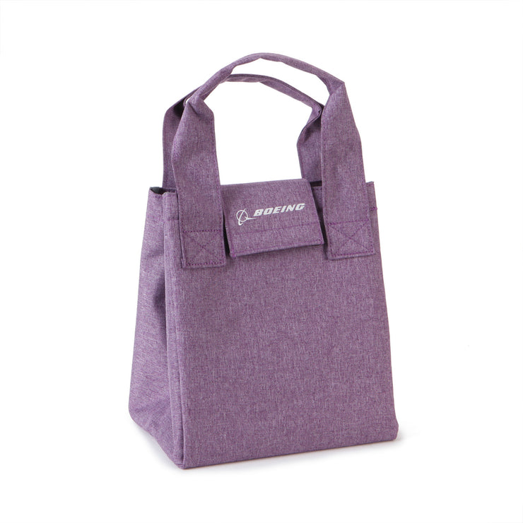 Boeing Logo Heathered Lunch Tote