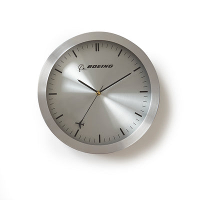 Boeing Airplane Wall Clock