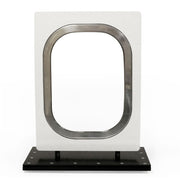 "Boeing 747 White Window 18"" Black Base"