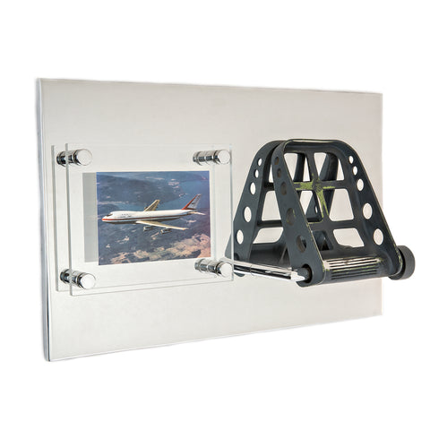 747-100 Rudder Pedal Plaque - Joe Sutter Edition I