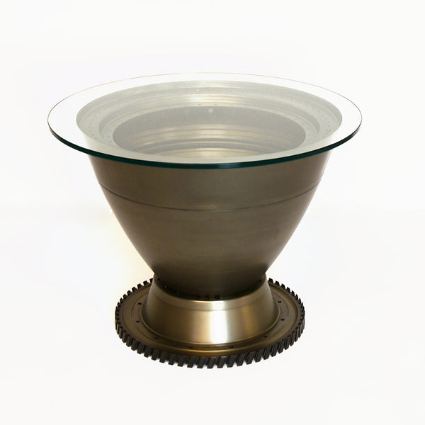 747-400 RB211 Engine Spinner Table - Silver Base