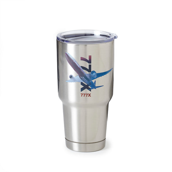 777X X-Ray Graphic Stainless-Steel Tumbler