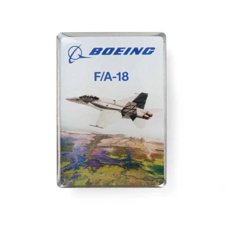 Boeing Endeavors F/A-18 Lapel Pin (2783595331706)