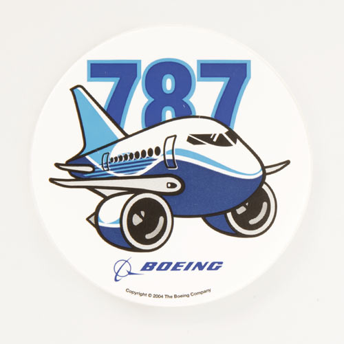 787 Pudgy Sticker