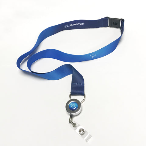 Living Blue Lanyard
