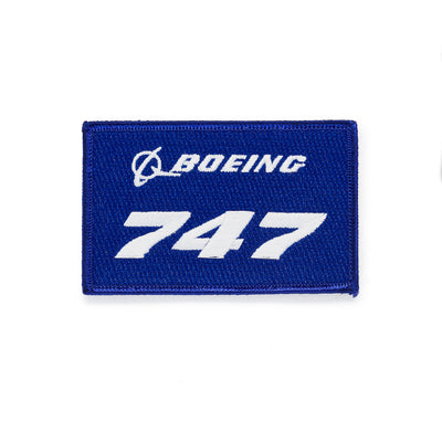 Boeing 747 Stratotype Embroidered Patch
