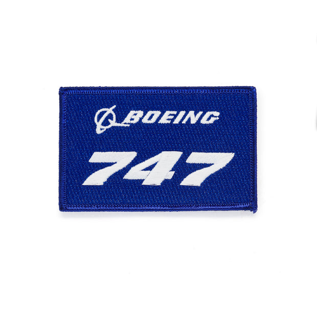 Boeing 747 Stratotype Embroidered Patch (249106497548)