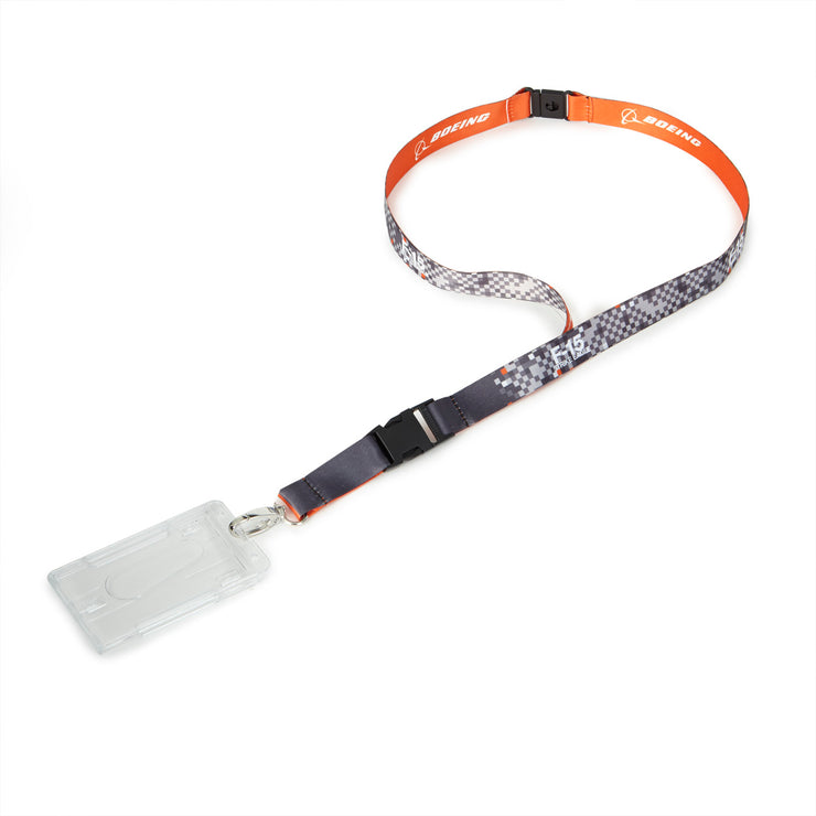 F-15 Strike Eagle Pixel Graphic Lanyard (2189910835322)