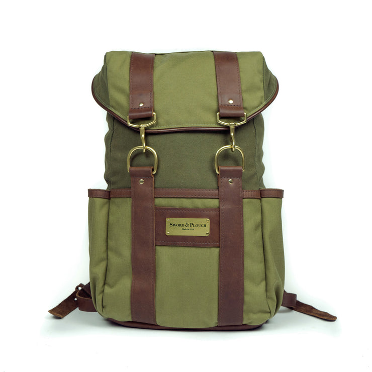 Sword & Plough Signature Urban Rucksack - Green (6413712966)