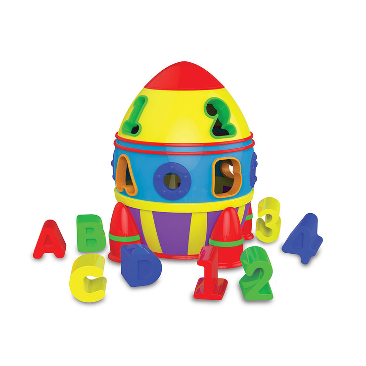 Rocket Shape Sorter (2961340629114)