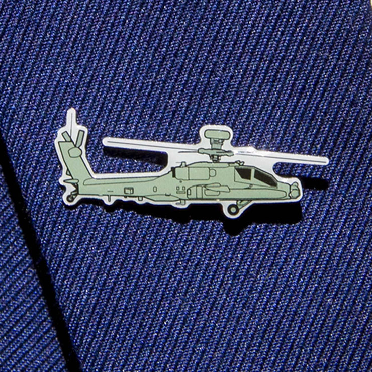 Boeing Illustrated AH-64 Lapel Pin