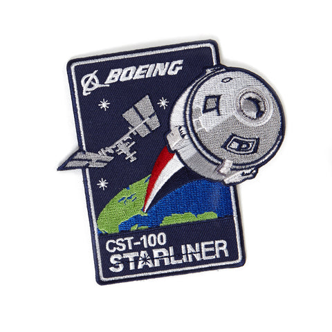 CST-100 Starliner Embroidered Patch