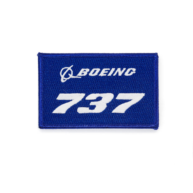 Boeing 737 Stratotype Embroidered Patch