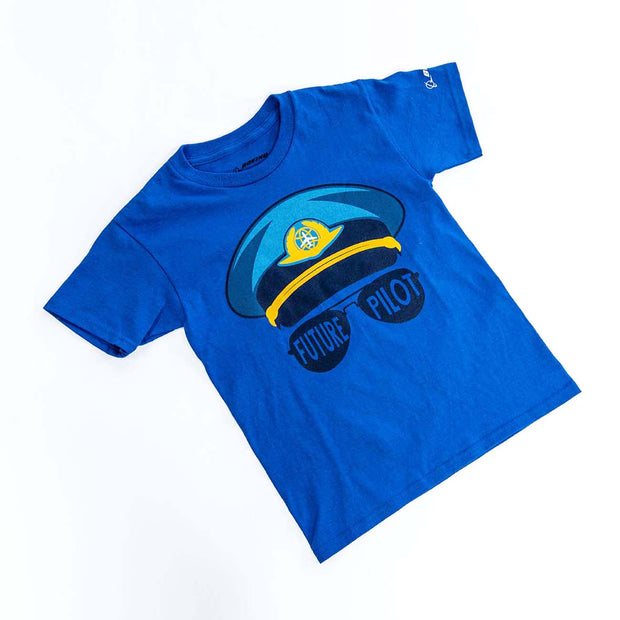 Boeing Kids' Future Pilot T-Shirt (3008656867450)