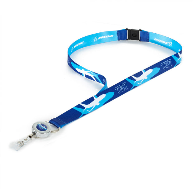 Boeing Shadow Graphic 737 Lanyard (199391445004)