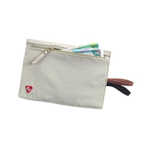 RFID-Block Hidden Travel Wallet