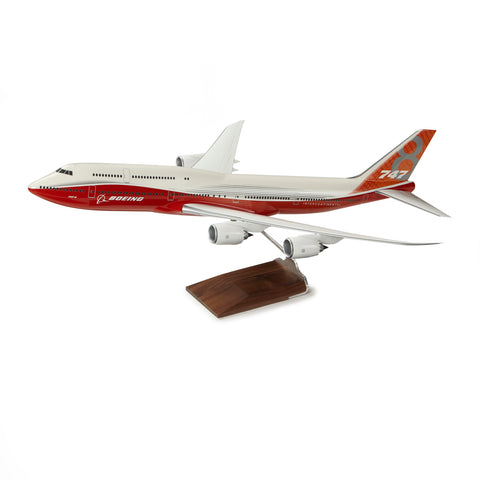 747-8 Intercontinental Sunrise Livery Resin 1:100 Model