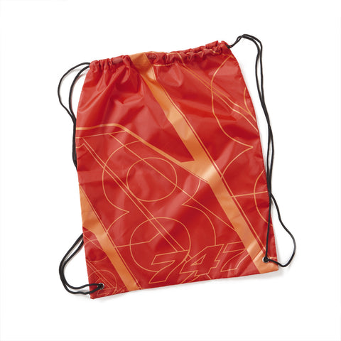747-8 Tech Print Cinch Sack