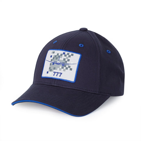 777 Pixel Graphic Hat
