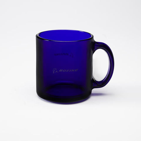 Blue Glass Mug