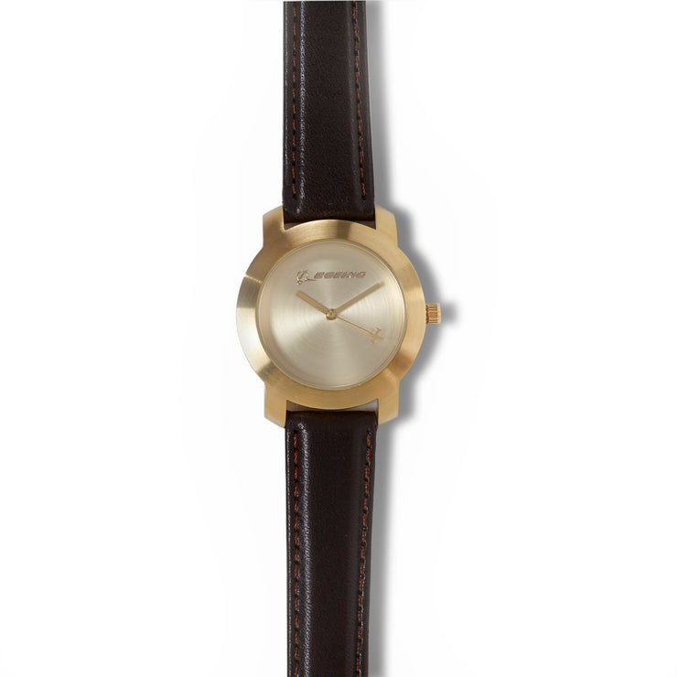 Gold Rotating Airplane Watch - Women's Sizing (10916871116)