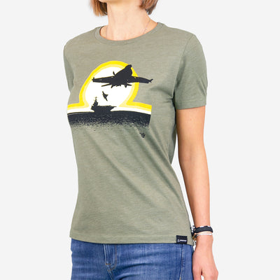 Ames Bros Boeing F/A-18 Women's T-Shirt (2796919488634)