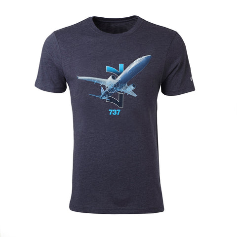 737 X-Ray Graphic T-Shirt