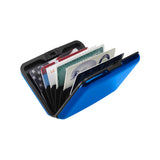 RFID-Blocking Aluminum Wallet