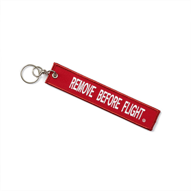 Boeing Remove Before Flight H-47 Keychain